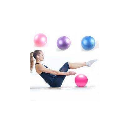Minge Medicinala pentru Exercitii Fitness, Aerobic, Pilates, Yoga, Gonflabila, Premium 20cm, Rezistenta 100Kg [4]