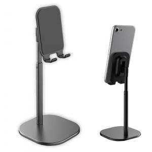 Suport Premium Metalic pentru Tableta sau Telefon cu Inaltime si Unghi de Vizualizare Reglabil - Negru10