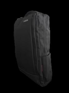 Ghiozdan tip Rucsac Profesional pentru Laptop cu Mufa Smart USB si AUX cu Mufa Jack- 7 Compartimente - Negru3