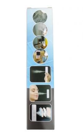Dispozitiv 3in1 Pulverizator, Sterilizator, Umidificator cu Abur, 30ml, de Buzunar, cu Acumulator si USB, Alb [5]