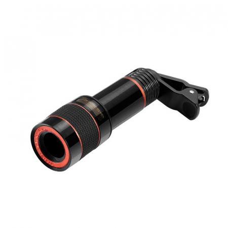 Telescop Lentila Optica Zoom 12x  Pentru Telefon Mobil sau Tableta  Obiectiv telefon Lentila Telefon  Fotografii  poze telefon [3]