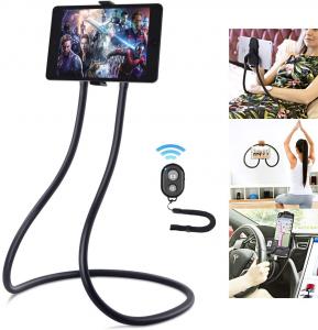 Suport Multifunctional Flexibil pentru Gat Reglabil compatibil Telefon sau Tableta Premium Vlog Universal0