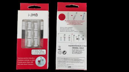 Set 6 Clipsuri pentru Protectie Antirupere Cabluri, Premium, Multicolor [1]
