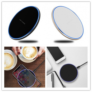 Incarcator Wireless Fast Charge Ultra Slim Compatibil Android IOS3
