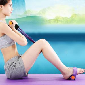 Aparat Extensor Fitness Multifunctional Premium, pentru Tonifiere Abdomen, Brate, Piept, Picioare, Ultra Portabil Elastic [2]