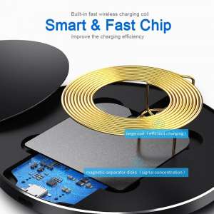 Incarcator Wireless Fast Charge Ultra Slim Compatibil Android IOS8