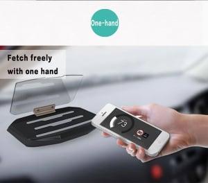 Heads Up Display HUD Suport Auto Telefon GPS Navigatie11