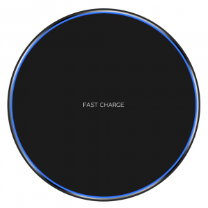Incarcator Wireless Fast Charge Ultra Slim Compatibil Android IOS0