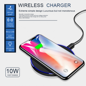 Incarcator Wireless Fast Charge Ultra Slim Compatibil Android IOS2