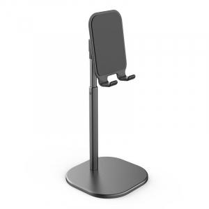 Suport Premium Metalic pentru Tableta sau Telefon cu Inaltime si Unghi de Vizualizare Reglabil - Negru7