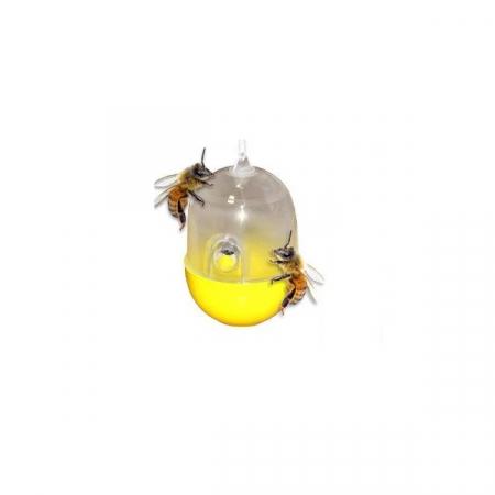 Capcana pentru Viespi si Insecte Zburatoare, Reutilizabila si Foarte Eficienta [0]