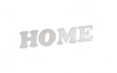 Autocolant Sticker Oglinda Acrilica din PVC, 4 Litere, Home, 6 cm [2]