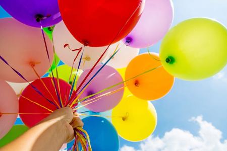 Set 25 de Baloane Multicolore, 30cm, cu Pompa Manuala, Pentru Petreceri [2]