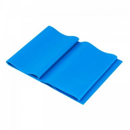 Banda Elastica de Rezistenta din Latex pentru Tonifiere Muschi Piept, Brate, Spate, Abdomen, Picioare, Albastru11