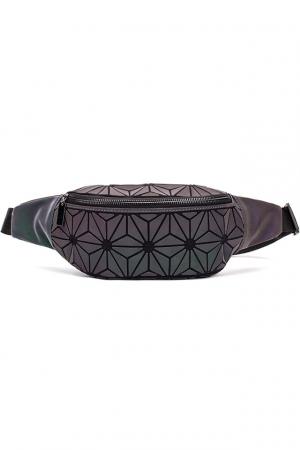 Borseta si Geanta de Umar cu Insertii Geometrice Reflectorizante Curcubeu, Model Deosebit Premium [8]