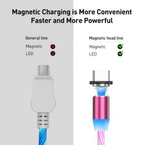 Cablu USB Fast Charge cu Mufa Magnetica 360° & Full LED23