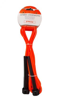 Coarda de Sarit pentru Antrenamente Sportive in Viteza Material PVC pentru Copii sau Adulti Model Universal Premium, 275cm, Neon [4]