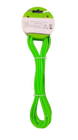 Coarda de Sarit pentru Antrenamente Sportive in Viteza Material PVC pentru Copii sau Adulti Model Universal Premium, 275cm, Neon [6]