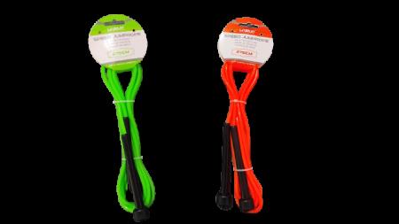 Coarda de Sarit pentru Antrenamente Sportive in Viteza Material PVC pentru Copii sau Adulti Model Universal Premium, 275cm, Neon [1]