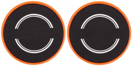Set 2x Discuri Alunecare pentru Antrenament Sportiv Fitness, Usoare si Portabile, 18cm Premium2