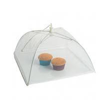 Umbrela de Protectie Impotriva Insectelor, Furnicilor si Gandacilor pentru Farfurii, Caselore si Alimente, Alb, 31cm x 31cm [2]