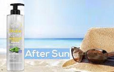 Gel Hidratant cu Efect Calmant pentru Arsuri Solare, cu Extract de Aloe Vera, Unisex, 250ml, Transparent [1]