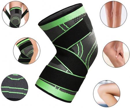 Genunchiera pentru Protectie Genunchi si Picior, Supraelastica pentru Sportivi si Atleti, Premium, Original Deals® [1]