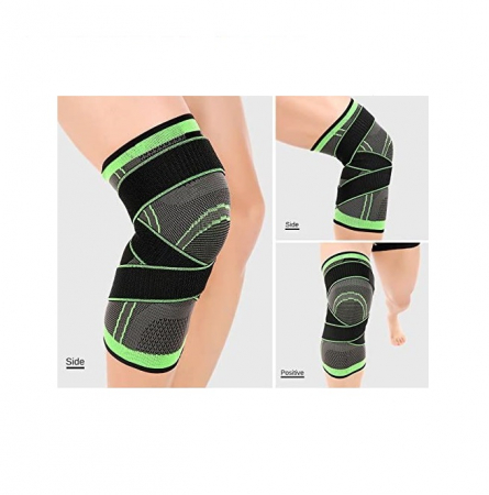 Genunchiera pentru Protectie Genunchi si Picior, Supraelastica pentru Sportivi si Atleti, Premium, Original Deals® [3]