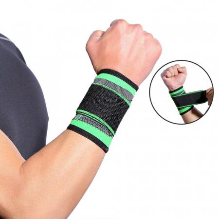 Banda pentru Protectie Incheietura Mainii, Supraelastica pentru Sportivi si Atleti, Premium, Original Deals® [0]
