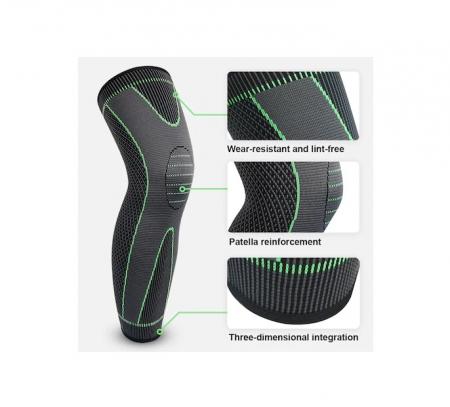 Protectie Elastica pentru Genunchi, Gamba si Picior, Supraelastica pentru Sportivi si Atleti, Premium, Original Deals® [1]