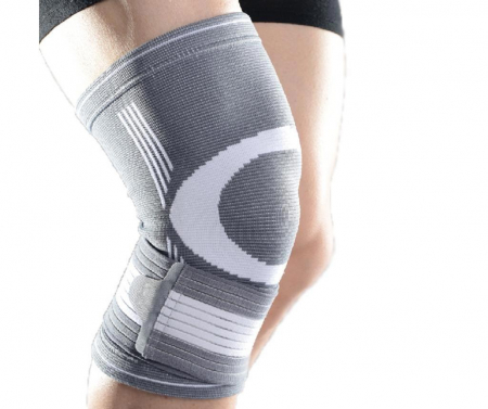 Genunchiera Supraelastica pentru Protectie Genunchi Picior, Marime Universala si Unica pentru Sportivi, Premium0