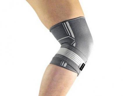 Genunchiera Supraelastica pentru Protectie Genunchi Picior, Marime Universala si Unica pentru Sportivi, Premium1