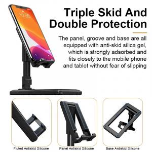 Suport Tableta sau Telefon Smartphone pentru Masa sau Birou - Pliabil Reglabil si Portabil Premium cu Reglaj Multiplu1