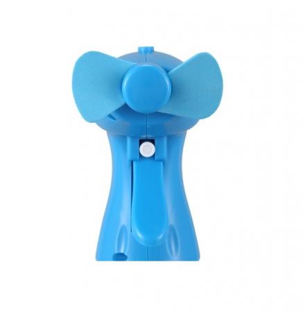 Ventilator de Mana cu Pulverizator de Apa, 350ml, Albastru [6]