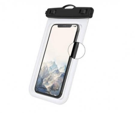 Husa Impermeabila pentru Telefon cu Touch Screen, Compatibilitate Maxim 6.5 Inch, pentru Activitati Acvatice [2]