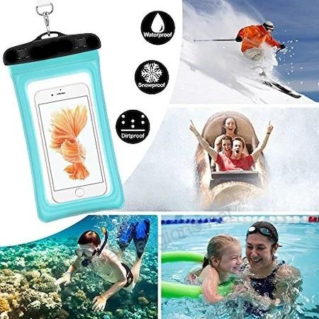 Husa Impermeabila pentru Telefon cu Touch Screen, Compatibilitate Maxim 6.5 Inch, pentru Activitati Acvatice [3]