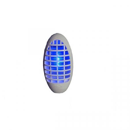 Aparat Multifuntional 2in1 cu Lumina Albastra Impotriva Tantarilor si Lampa de Veghe pentru Priza, 220V, Alb [1]