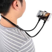 Suport Multifunctional Flexibil pentru Gat Reglabil compatibil Telefon sau Tableta Premium Vlog Universal12