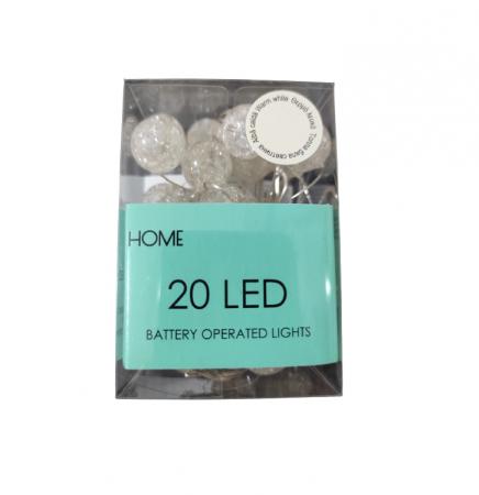 Instalatie Ghirlanda cu 20 Becuri LED, Lumina Alba Calda, Premium, Original Deals® [2]