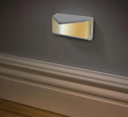 Set 2 Lampi LED cu Senzor de Lumina, pentru Iluminat Scari, Trepte, Mobila, Pereti, cu Baterii, Alb [1]