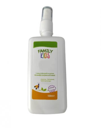 Lotiune pentru Corp Hidratanta cu Extract de Eucalipt si Actiune Anti Insecte si Tantari, pentru Copii, 100ml [0]