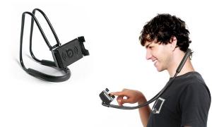 Suport Multifunctional Flexibil pentru Gat Reglabil compatibil Telefon sau Tableta Premium Vlog Universal15