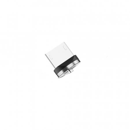 Mufa Magnetica cu Rotire 360° Pentru Cabluri USB cu incarcare Rapida si Transfer de Date 480MB/s, Noua Generatie4