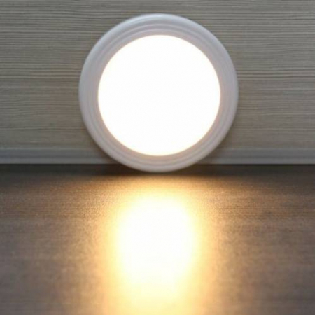 Set 3 Spoturi LED cu Senzor Luminos pentru Lumina de Veghe, la Retea, Universal, Alb [2]