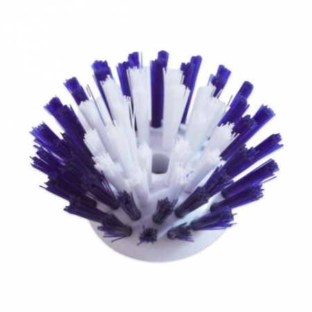 Perie pentru Spalat Vase cu Recipient pentru Detergent Lichid, Premium, Mov [1]
