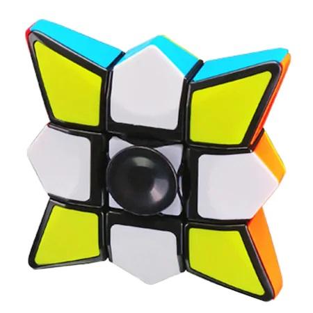 Jucarie Inteligenta Spinner Rubik cu 6 Culori si Diferite Posibilitati de Aranjare, Jucarie Antistres, Multicolor3