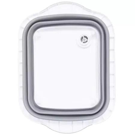 Tocator si Caston Pliabil din PVC si Silicon cu Buton de Scurgere a Apei, Premium [6]