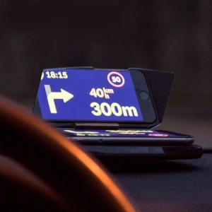 Heads Up Display HUD Suport Auto Telefon GPS Navigatie8