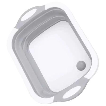 Tocator si Caston Pliabil din PVC si Silicon cu Buton de Scurgere a Apei, Premium [20]