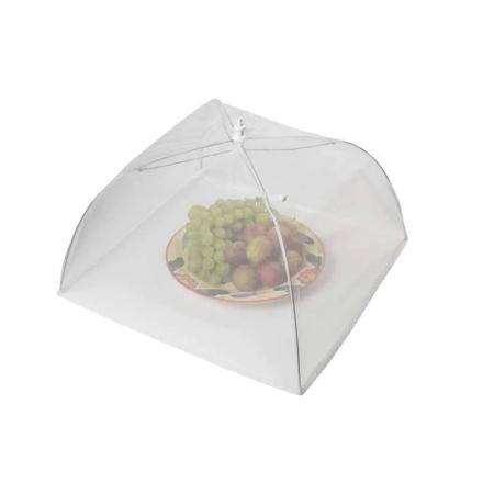 Umbrela de Protectie Impotriva Insectelor, Furnicilor si Gandacilor pentru Farfurii, Caselore si Alimente, Alb, 31cm x 31cm [4]